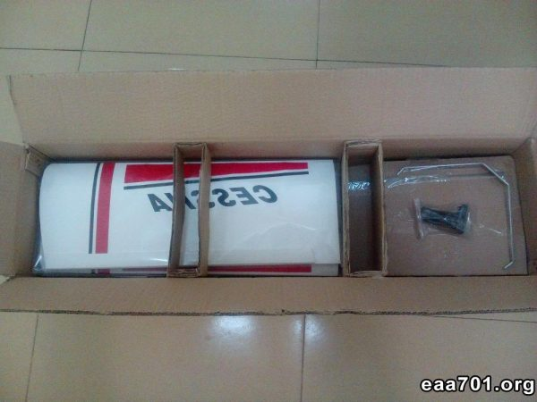 Cessna aircraft parts receiving