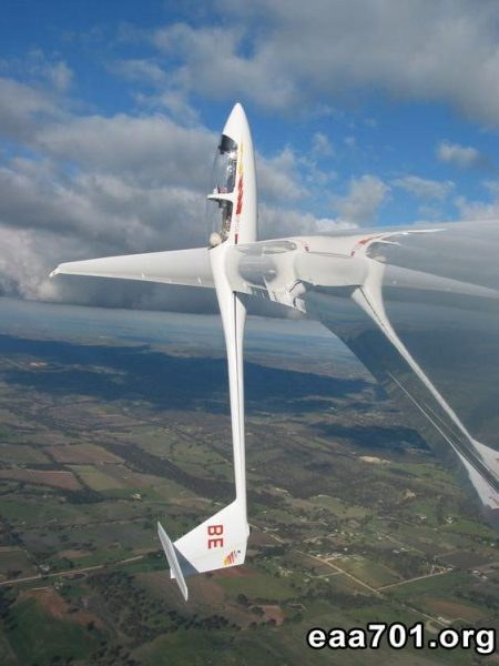 Gapa ultralight experimental aircraft sailplane