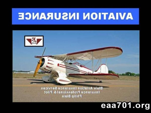 Homebuilt experimental aircraft insurance