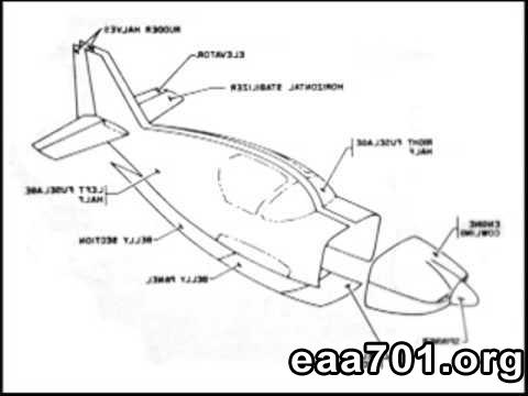 Experimental category aircraft drawings