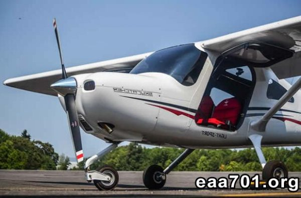 Sport aircraft pilot license