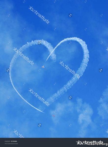Aircraft images heart