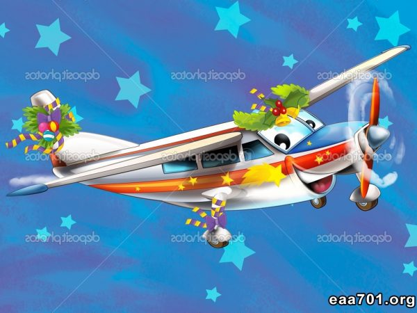 Aircraft images of christmas