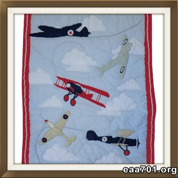 Aircraft images quilts