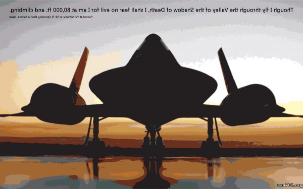 Aircraft images with quotes