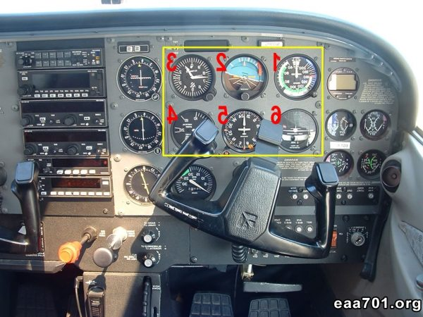 Aircraft instrument photos