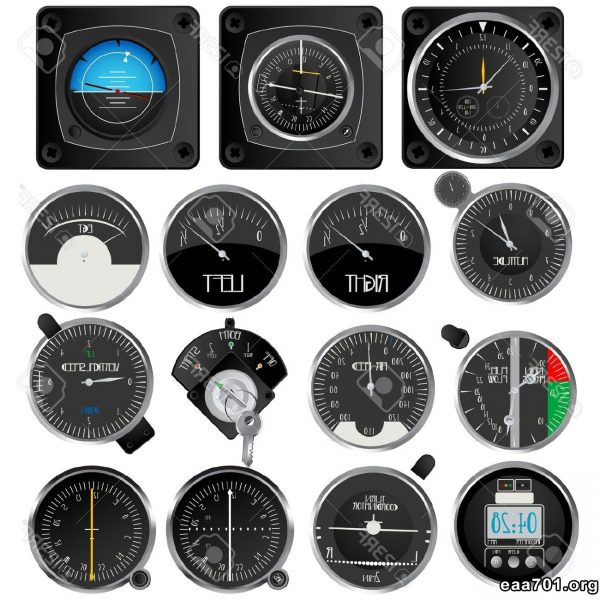 Aircraft instruments images