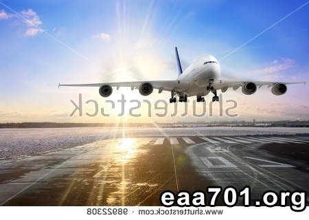 Aircraft landing images