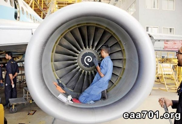 Aircraft maintenance photos