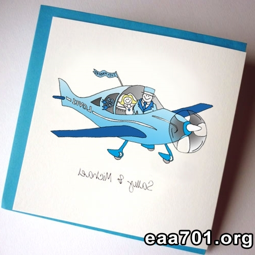 Aircraft photo invitations