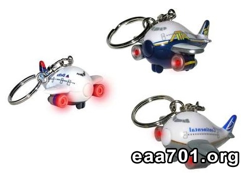 Aircraft photo keychains