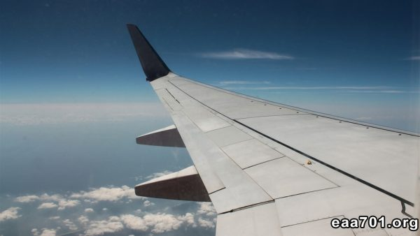 Aircraft wing photos