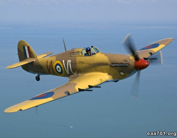 Hurricane aircraft images