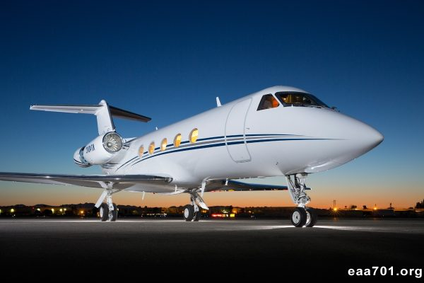 Private aircraft photo gallery