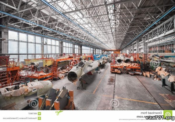 Aircraft assembly photos