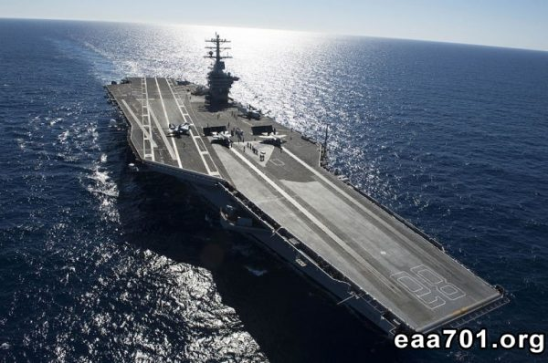 Aircraft carrier photo gallery