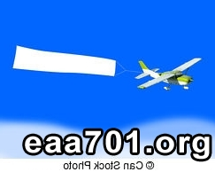 Airplane banner images