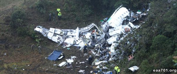 Airplane crash images
