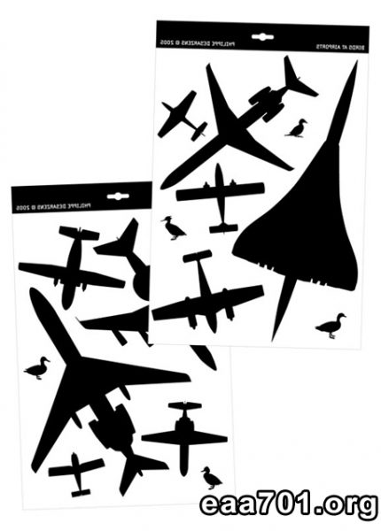 Airplane graphic images