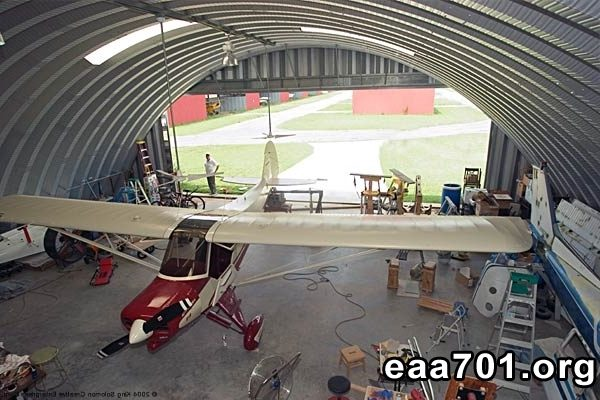 Airplane hangar images