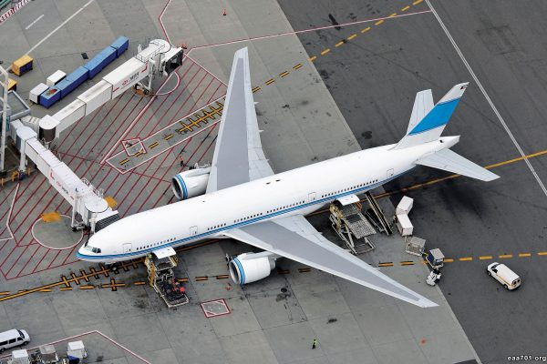 Airplane images at airport
