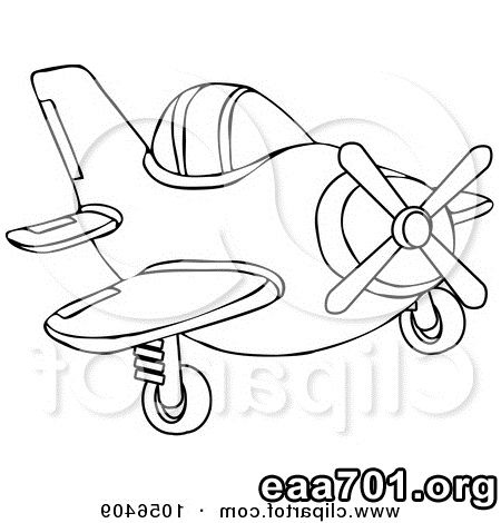 Airplane images clip art coloring