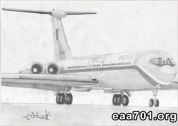 Airplane images for drawing