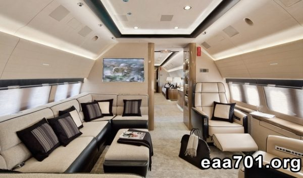 Airplane images interior