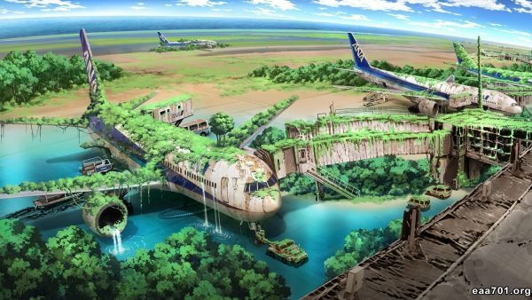Airplane images nature