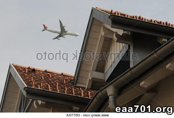 Airplane images of houses