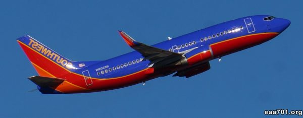 Airplane images southwest