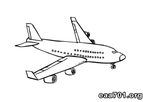 Airplane images to print