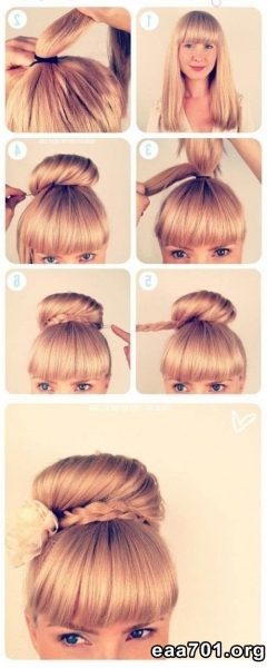Airplane images updo