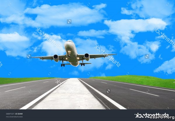 Airplane landing images