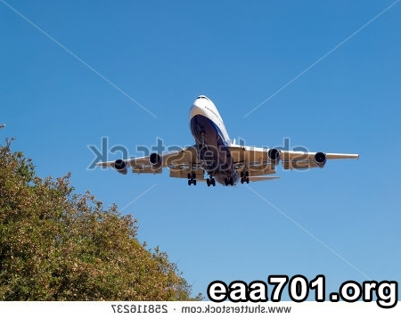 Airplane landing photos