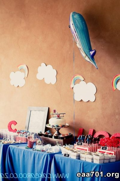 Airplane party photo prop