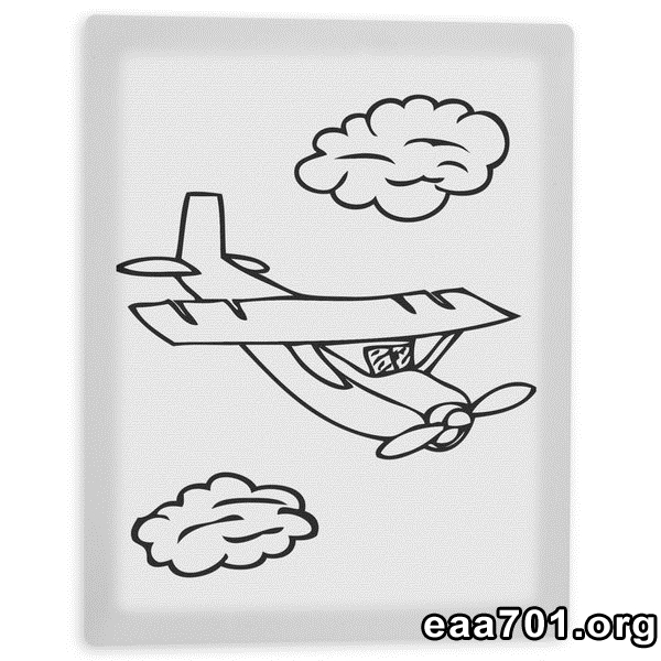 Airplane photo 8x10