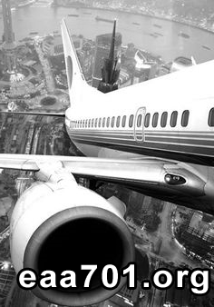 Airplane photo black and white