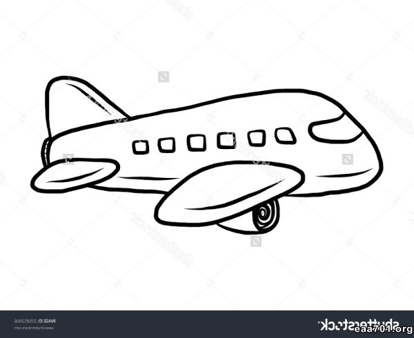 Airplane photo cartoon