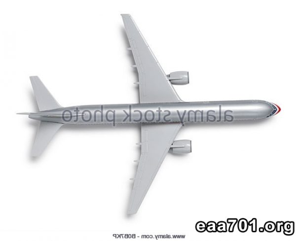 Airplane photo cut out