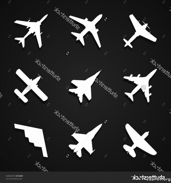 Airplane shadow images