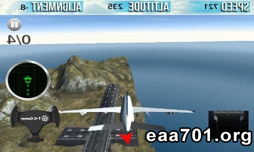 Airplane simulator images