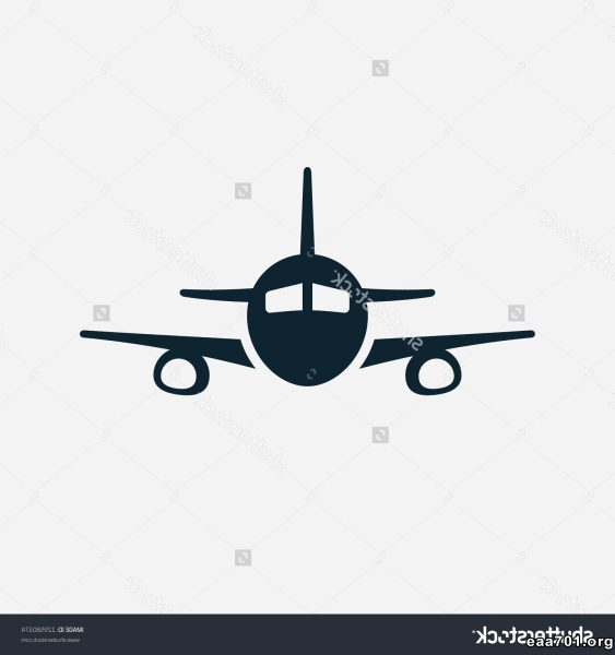Airplane vector images