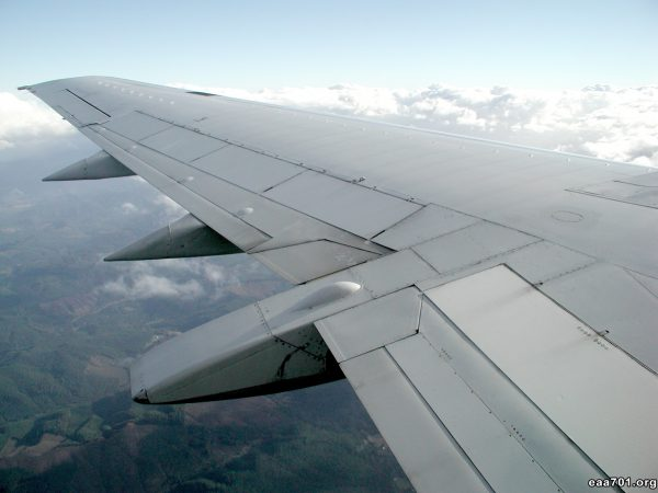 Airplane wing images