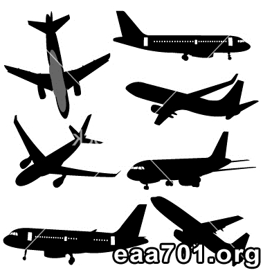 Free airplane vector images