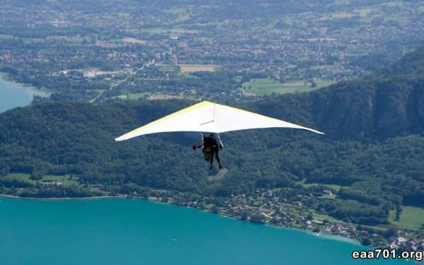 Hang glider photo wallpaper