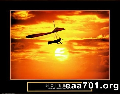 Hang glider photo watermark
