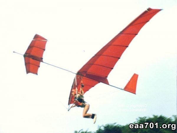 Hang glider photo wedding