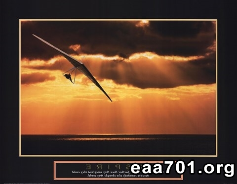 Hang glider photo zoom