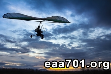 Hang glider photoshop